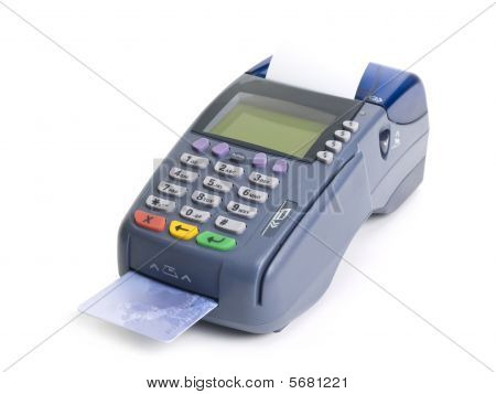 Kreditkartenterminal