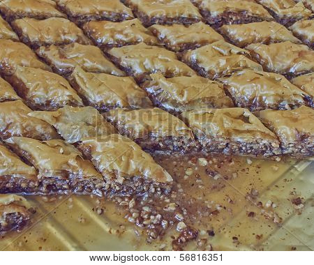 delicious baklava traditional midle east desert