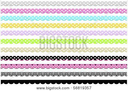 Scalloped Borders Collection