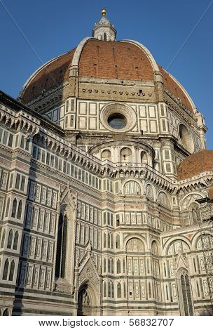 Florence Cathedral (Basilica di Santa Maria del Fiore) in Florence, Italy.