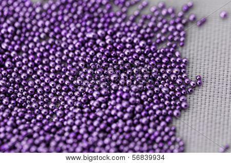 Pile Purple Balls