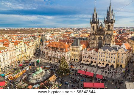 Panorama Of Prague