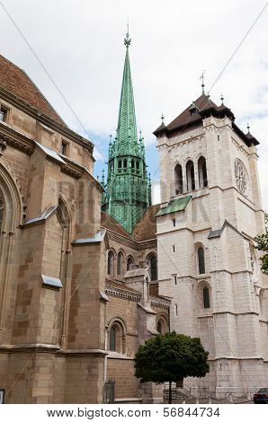 Cathedral Saint Pierre in Geneva