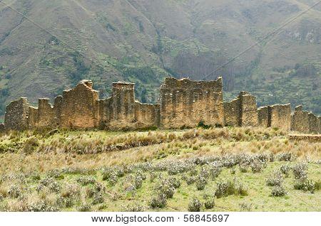 Peru, Piruro Pre Columbian Ruins Near Tantamayo