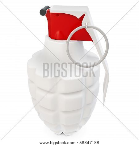 3D Detailed  Hand Grenade