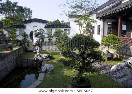 Un jardín de estilo chino
