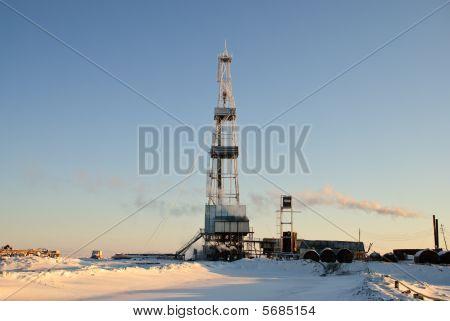 Winter Drilling Rig