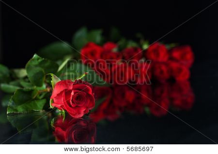 Red Rose Solitarie