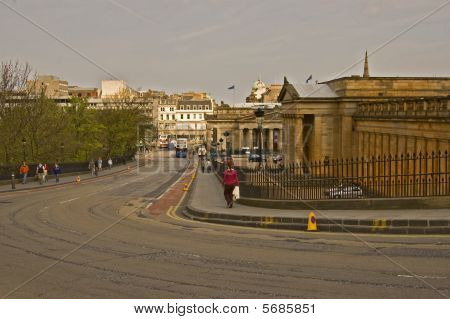 Edinburgh The Mound