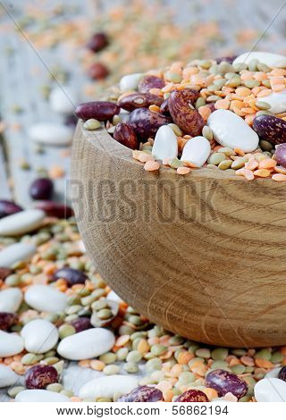 Bowl With Haricot Bean