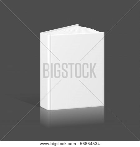 Blank Book, Binder or Folder Template. Vector