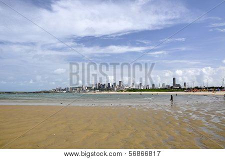 Beach Of Natal, Rio Grande Do Norte (brazil)