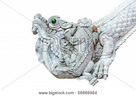 Pixiu Or Pi Yao Dragon Statue