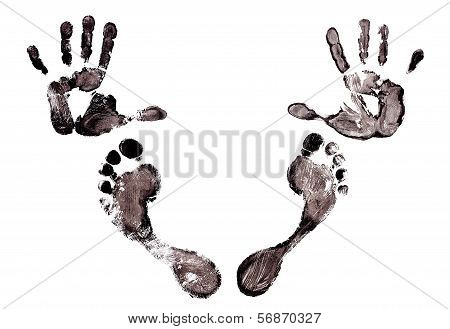 Imprint Hands And Foot