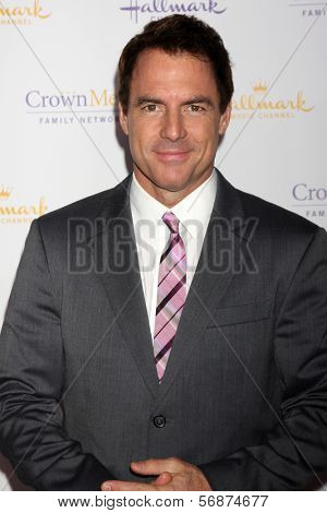 LOS ANGELES - JAN 11:  Mark Steines at the Hallmark Winter TCA Party at The Huntington Library on January 11, 2014 in San Marino, CA
