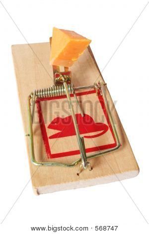 Isolated Mousetrap
