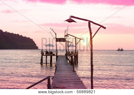 Evening Meditation Jetty to Eternity