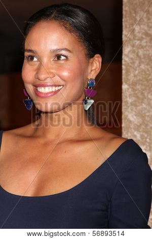 vLOS ANGELES - JAN 12:  Joy Bryant at the HBO 2014 Golden Globe Party  at Beverly Hilton Hotel on January 12, 2014 in Beverly Hills, CA