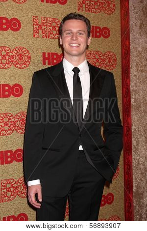 vLOS ANGELES - JAN 12:  Jonathan Groff at the HBO 2014 Golden Globe Party  at Beverly Hilton Hotel on January 12, 2014 in Beverly Hills, CA