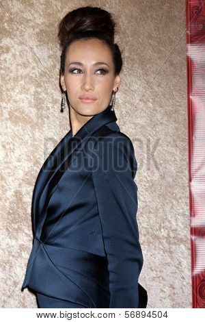 vLOS ANGELES - JAN 12:  Maggie Q at the HBO 2014 Golden Globe Party  at Beverly Hilton Hotel on January 12, 2014 in Beverly Hills, CA