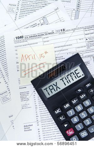 Tax Time To Pay