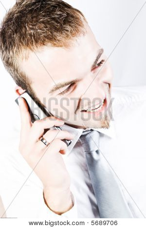 On A Promising Business  Phone Conversation