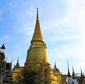 picture of tantric  - A golden pagoda Grand Palace  - JPG