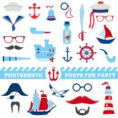 foto of brig  - Nautical Party set  - JPG