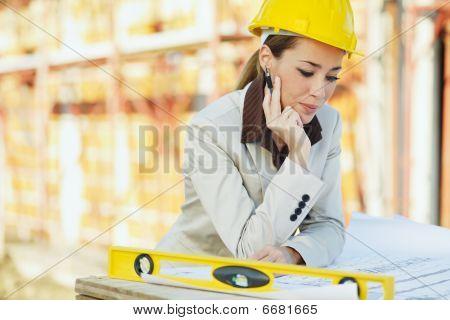 Arquitecto femenino