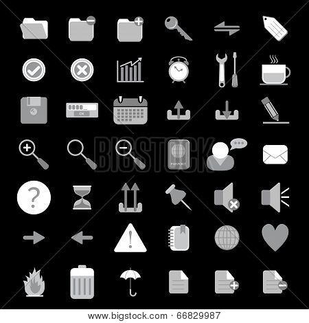 Basic Web Icon Set