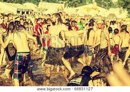 Przystanek Woodstock (woodstock Festival),  biggest summer open air rock music festival in Europe.