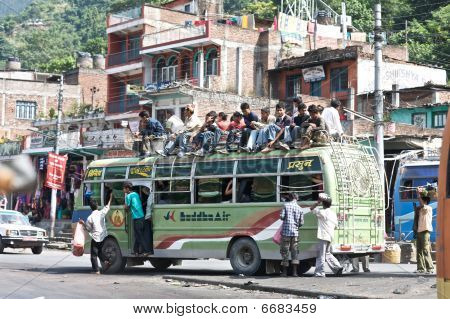 Bus Transportation - Nepal