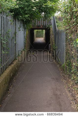 Foot Passage Under The Railway