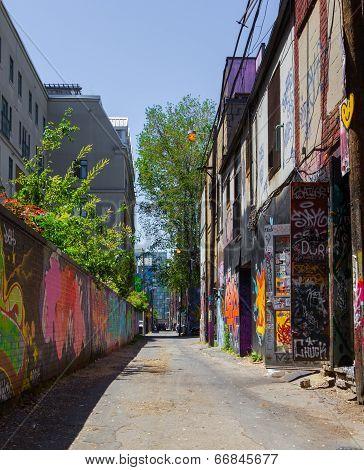 Toronto Grafitti Alley