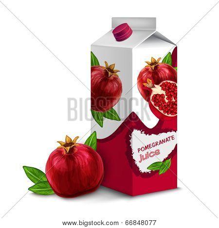 Juice pack pomegranate