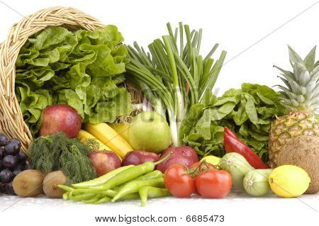 fruit and vegetable basket