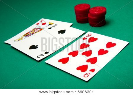 Double Down bei blackjack