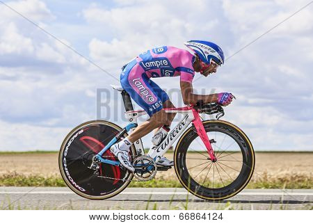The Cyclist Michele Scarponi
