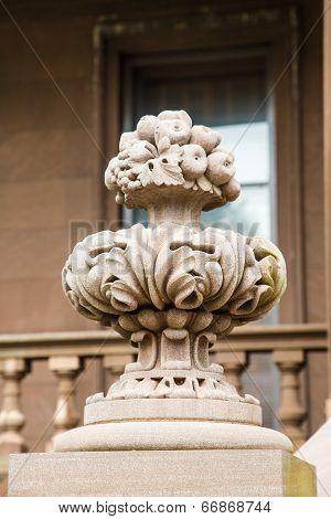 Ornate Stone Balustrade