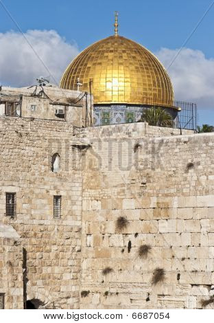 Western Wall And Dome Of The Rock 1