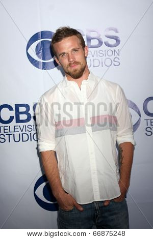 LOS ANGELES - MAY 19:  Cam Gigandet at the CBS Summer Soiree at the London Hotel on May 19, 2014 in West Hollywood, CA