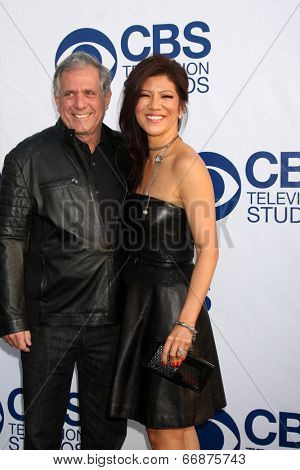 LOS ANGELES - MAY 19:  Leslie Moonves, Julie Chen at the CBS Summer Soiree at the London Hotel on May 19, 2014 in West Hollywood, CA