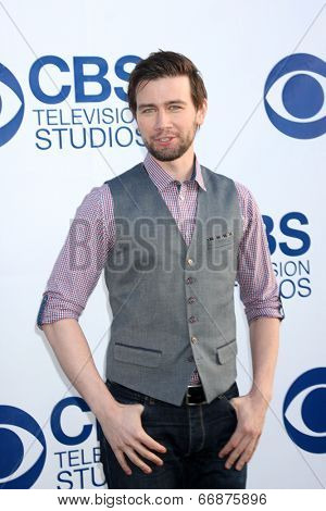 LOS ANGELES - MAY 19:  Torrance Coombs at the CBS Summer Soiree at the London Hotel on May 19, 2014 in West Hollywood, CA