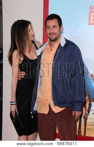 LOS ANGELES - MAY 21:  Jackie Sandler, Adam Sandler at the