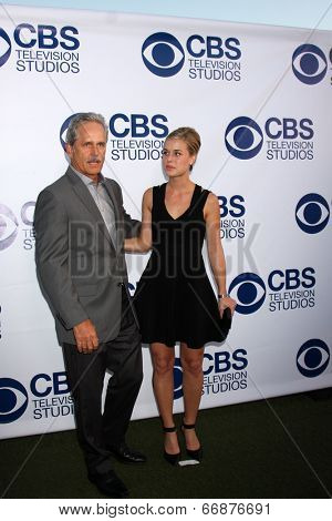 LOS ANGELES - MAY 19:  Gregory Harrison at the CBS Summer Soiree at the London Hotel on May 19, 2014 in West Hollywood, CA
