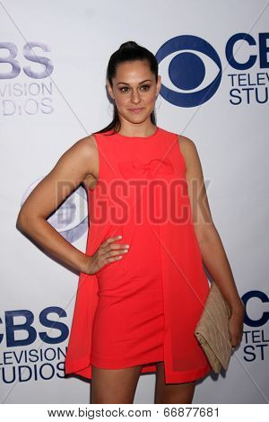 LOS ANGELES - MAY 19:  Kelen Coleman at the CBS Summer Soiree at the London Hotel on May 19, 2014 in West Hollywood, CA
