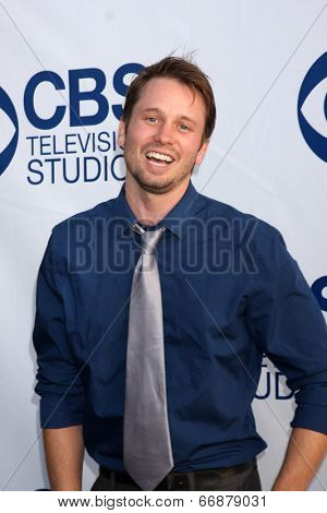 LOS ANGELES - MAY 19:  Tyler Ritter at the CBS Summer Soiree at the London Hotel on May 19, 2014 in West Hollywood, CA