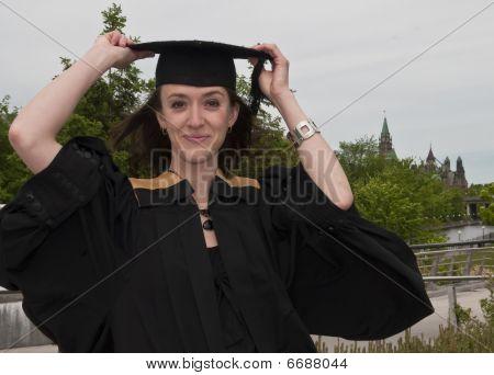Graduation Pose