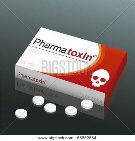 Pills Pharmatoxin Skull