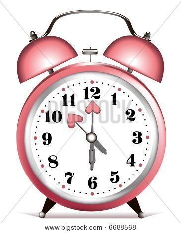 Valentine alarm clock